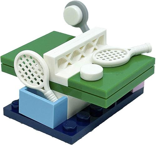 LEGO Friends Accessory Set: Ping Pong Table (17 pcs) (PingPongFoil561803)