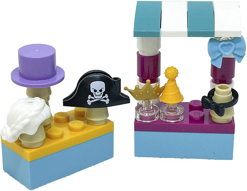 LEGO Friends Accessory Set: Shop with Costumes (30 pcs) (CostumeShopFoil561902)