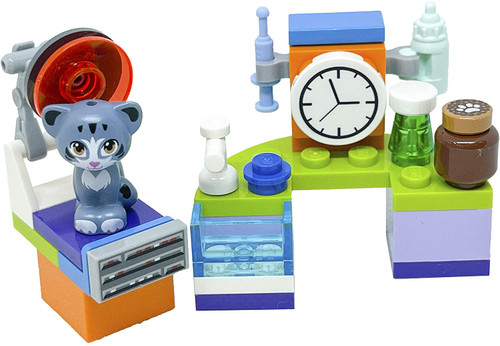 LEGO Friends Accessory Set: Veterinary Cabinet with Chico (33 pcs) (VetCabinetFoil561805)