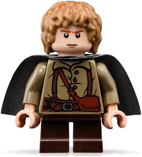 LEGO The Lord Of The Rings: Samwise Gamgee Minifigure With Grey Cape (SamwiseNEW)
