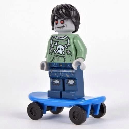 LEGO Zombie Skate Boarder Minifigure (ZombieSkateboarder)