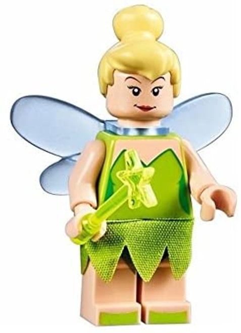 LEGO Disney MiniFigure - Tinkerbell (with Wand) Exclusive 71040 (TinkerBellNEW71040)