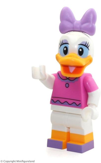 LEGO Disney Exclusive MiniFigure - Daisy Duck (Dark Pink Top) From Disney Castle 71040 (DaisyDuckNEW71040)