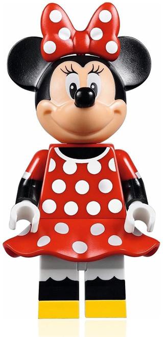 LEGO Disney Castle Minifigure - Minnie Mouse Red Polka Dot Dress (71040) (MinnieMouseNEW71040)