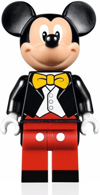 LEGO Disney Minifigure - Mickey Mouse (w/ Tuxedo Jacket) from Disney Castle 71040 (MickeyMouseNEW71040)