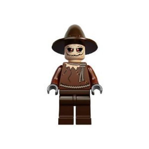 Lego Batman DC Comics Super Heroes Scarecrow Minifigure from Arkham Asylum (10937)