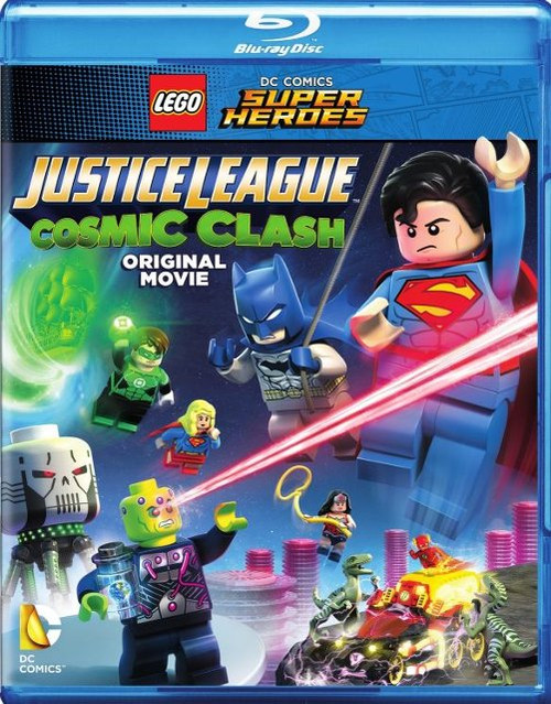 LEGO® DC Comics Super Heroes: Justice League - Cosmic Clash Blu-ray & DVD