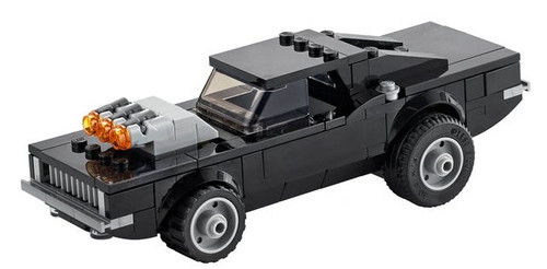LEGO Superheros City Car: Black Dodge Charger - from Ghost Rider