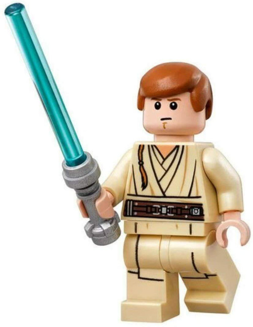 LEGO Star Wars Obi Wan Young with Lightsaber