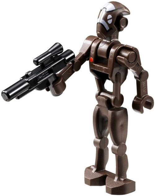 LEGO® Star Wars: Commando Droid Captain Minifigure with Blaster
