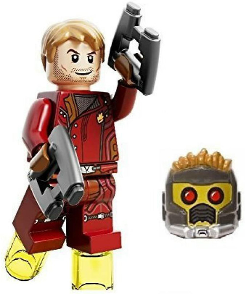 LEGO Superheroes StarLord with Mask, Hair and Blasters