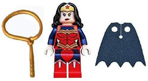 LEGO LEGO DC Superheroes Wonder Woman with Lassoo - The New 52 - Plus Blue Cape