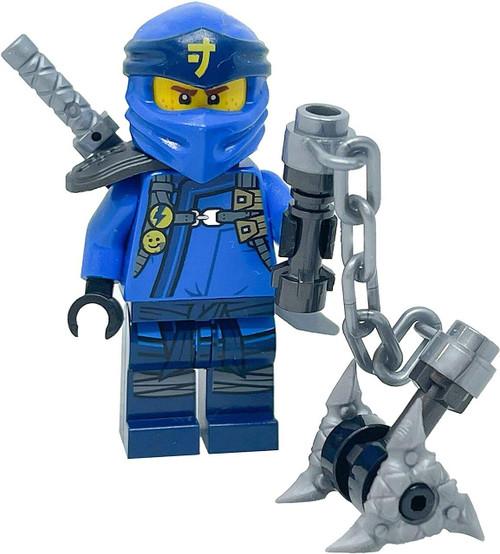 LEGO LEGO Ninjago Secrets of the Forbidden Spinjitzu Jay Minifig with weapons