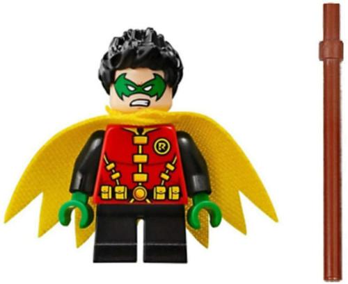 LEGO LEGO Superheroes Robin with Hood, Staff and Katana Sword Damian Wayne