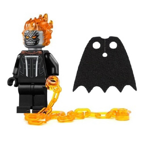 LEGO LEGO Superheroes Ghost Rider with Chain and Bonus Black Cape