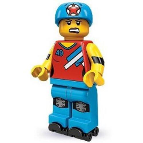 LEGO® Mini-Figures Series 9 - Roller Derby Girl