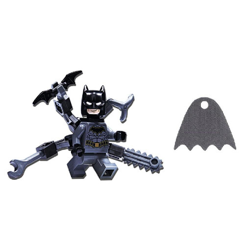 LEGO LEGO Superheroes Batman Minifig with Octo Arms plus Bonus Grey Cape