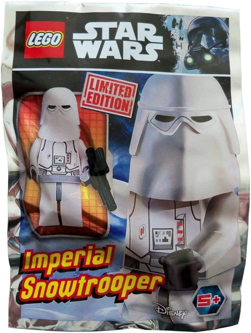LEGO Star Wars Snowtrooper Foil Pack - Includes Blaster