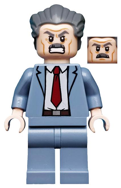 LEGO Super Heroes: J. Jonah Jameson Minifigure
