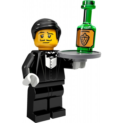 LEGO® Mini-Figures Series 9 - Waiter