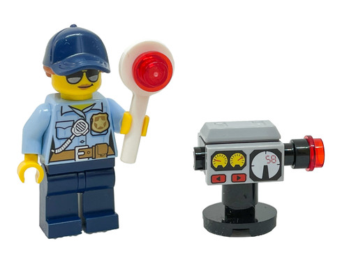LEGO City: Police Woman with Radar Gun - Cop (PoliceWomanFoil951910)
