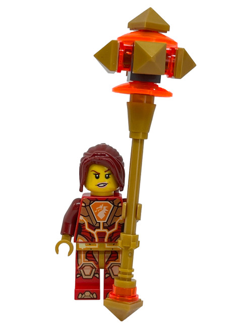 LEGO Nexo Knights: Macy with Fire Mace (MacyFoil271831)