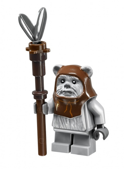 LEGO Star Wars: Chief Chirpa Ewok with Tribal Staff (ChiefChirpawithStaff)