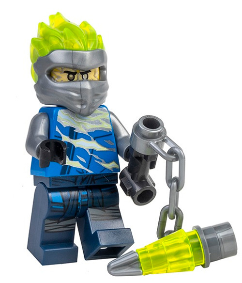 LEGO Ninjago: Jay FS (Spinjitzu Slam) with Chain Weapon