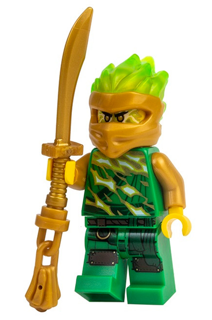 LEGO Ninjago: Lloyd FS (Spinjitzu Slam) with Gold Saber