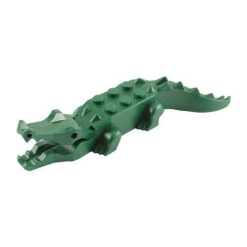 LEGO® City™ Crocodile Minifig (Dark Green Alligator)