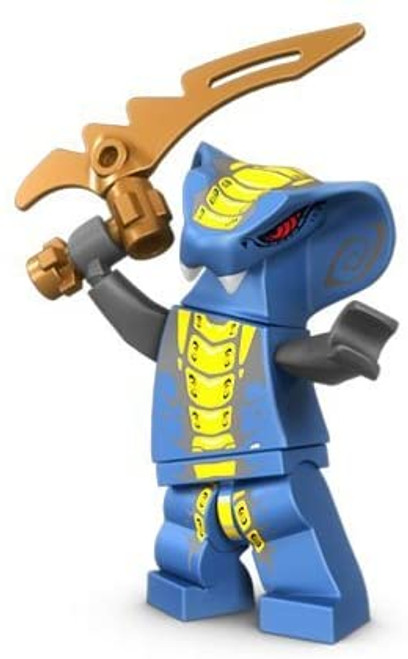 LEGO Ninjago: Slithraa Minifigure with Serpent Blade
