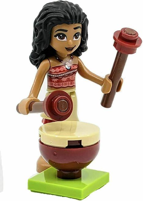 LEGO Disney Princess: Moana Minifig with Jungle Drum (MoanaFoil302007)