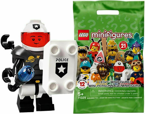 Lego 71029 Collectable Minifigures Series 21 - Space Police Guy (Series21SpacePolice)