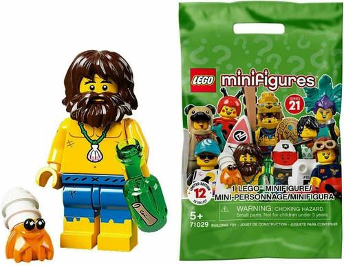 Lego 71029 Collectable Minifigures Series 21 - Shipwreck Survivor (Series21ShipwreckSurvivor)