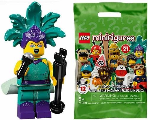 Lego 71029 Collectable Minifigures Series 21 - Cabaret Singer (Series21CabaretSinger)
