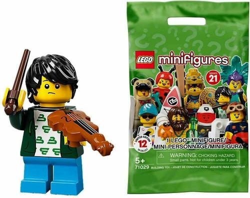 Lego 71029 Collectable Minifigures Series 21 - Violin Kid (Series21ViolinKid)