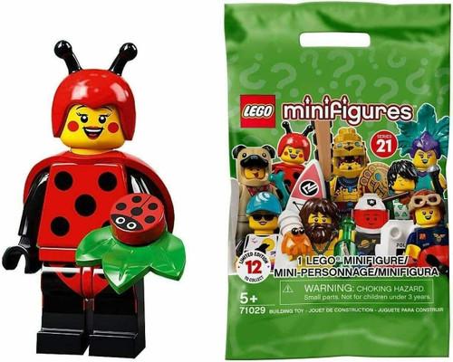 Lego 71029 Collectable Minifigures Series 21 - Ladybug Girl (Series21LadybugGirl)