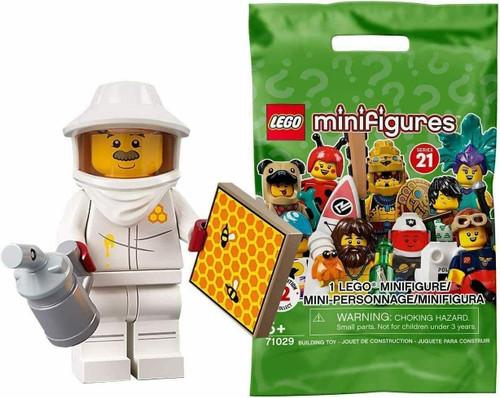 Lego 71029 Collectable Minifigures Series 21 - Beekeeper (Series21BeeKeeper)