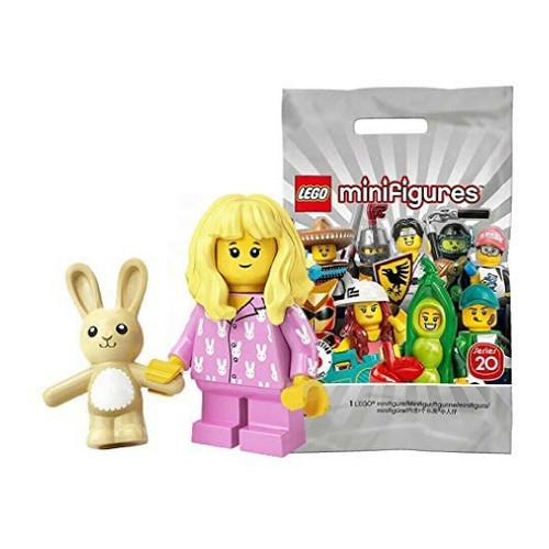 LEGO 71027 Minifigures Series 20 - Pajama Girl with Toy Rabbit (Series20PajamaGirll)