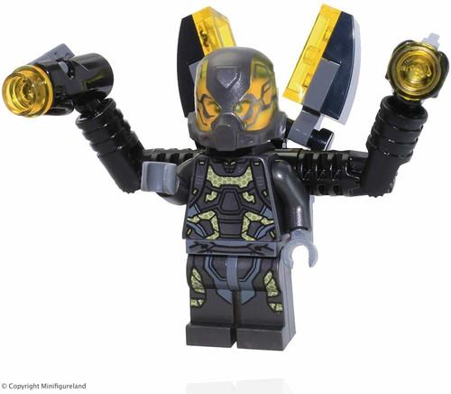 LEGO Marvel Superheros Ant Man Loose Minifigure Yellowjacket (YellowJacket76039)