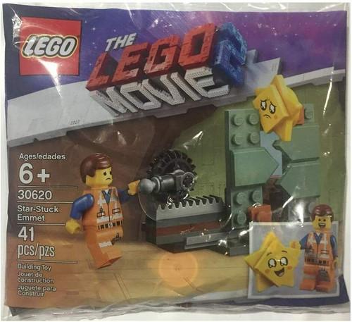 LEGO Movie 2 Star-Stuck Emmet Set 30620 (41 Pieces Polybag) (MoviePolybag30620)
