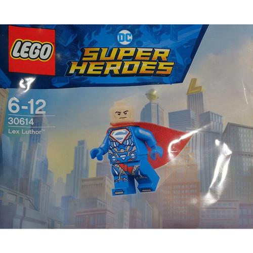 LEGO 30614 Super Heroes DC Comics Lex Luther Minifigure (LexLuthorPolybag30614)