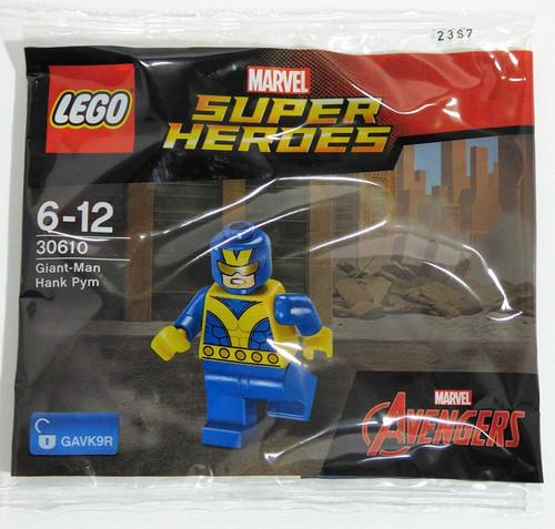 LEGO 30610 Super Heroes Marvel Giant Man Hank Pym (GiantManPolybag30610)