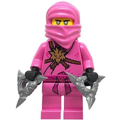 LEGO Ninjago: Avatar Pink Zane with Silver Shuriken (PinkZane71708)
