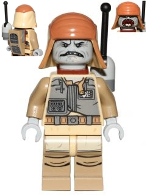 LEGO® Star Wars: Pao - with sticker on backpack