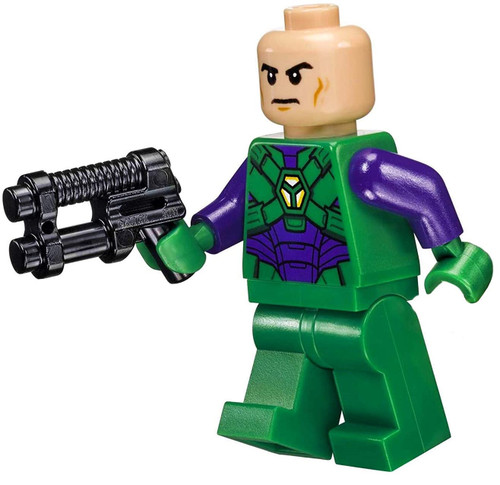 LEGO Super Heroes: Justice League Minifigure - Lex Luthor (in Green and Dark Purple Light Armor)