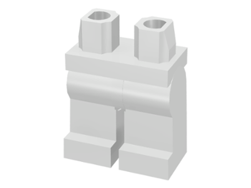 LEGO®  Accessories - White Legs - for Minifigs