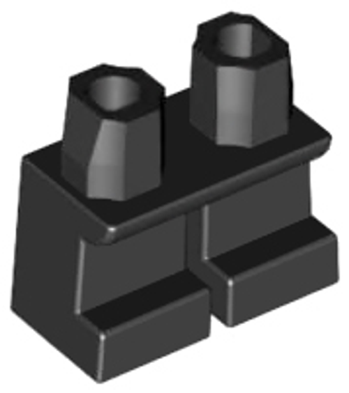 LEGO®  Accessories - Short Black Legs - for Minifigs