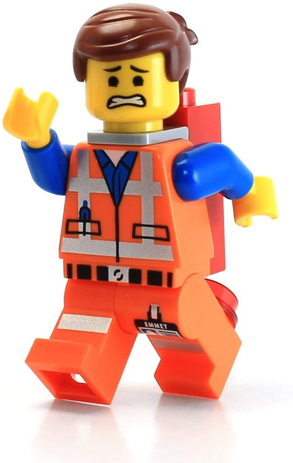 LEGO The Movie LOOSE Minifigure Emmet with Piece of Resistance