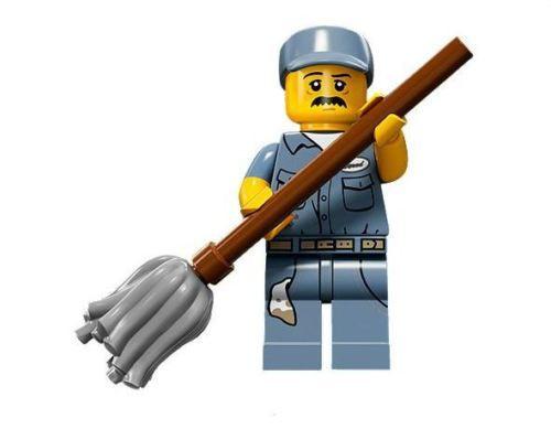 LEGO® Mini-Figures Series 15 - Janitor